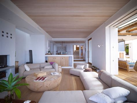 ceiling decor ideas australia living space wooden coffee table beautiful waterfront