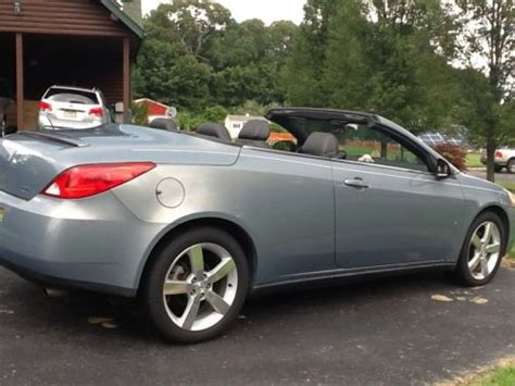 auto body repair training 2007 pontiac g6 user handbook buy used 2007 pontiac g6 gt convertible 2 door 3 9l in elmer new jersey united states