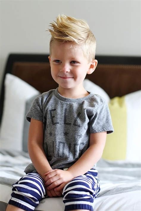 3 year old blonde boy haircut let your kid rock a mini mohawk on the playground kids