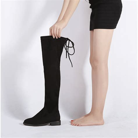 cheap flat boots 20 flat thigh high boots cheap yu boots
