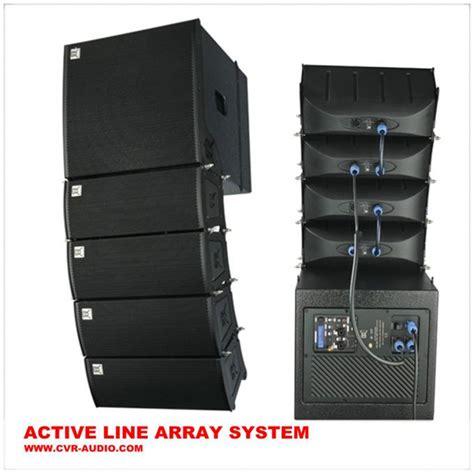 Sale Speaker Power Up Pu S608 5 1 self powered speaker system pa cabinet audio line array loudspeakers