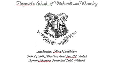 Hogwarts Acceptance Letter Font Hogwarts Acceptance Letter Need Quot Magik Quot Font From Web Http Members Outpost10f Lindax