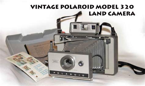 libro lands polaroid a company sold vintage polaroid model 320 land camera in very good condition