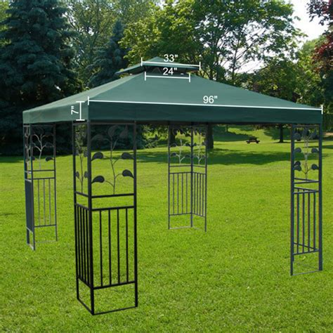 gazebo 8x10 awesome 8x10 gazebo 3 gazebo replacement canopy top