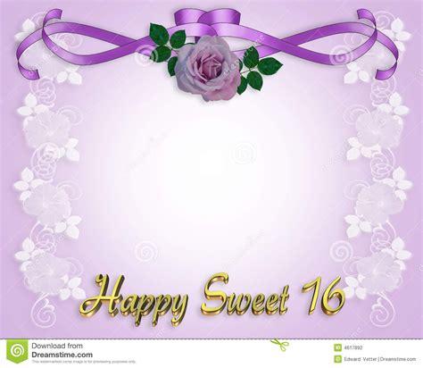 Free Sweet 16 Invitation Template Sweet 16 Invitations Templates Free