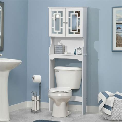 Space Saver by Bathroom Space Saver Cabinet The Toilet White Wood