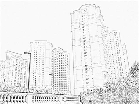 building sketch stock pictures skyscraper sketches