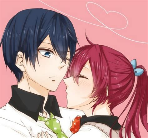 anime free haruka and gou free images haruka x gou wallpaper and background photos