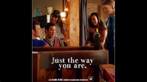 the texican way series 1 glee just the way you are