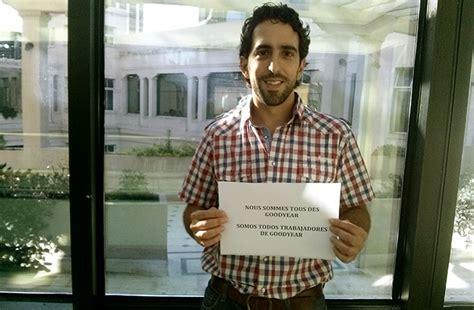 legislador patricio del corro suther solidarit 233 internationale avec les 8 de goodyear en