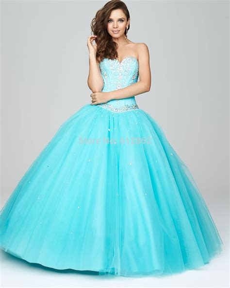 Blue Puffy Prom Dress | online buy wholesale blue puffy prom dress from china blue