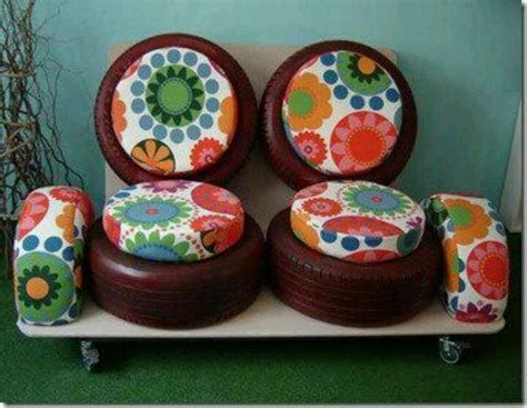 tire couch tires couch diy home decoration pinterest old tires