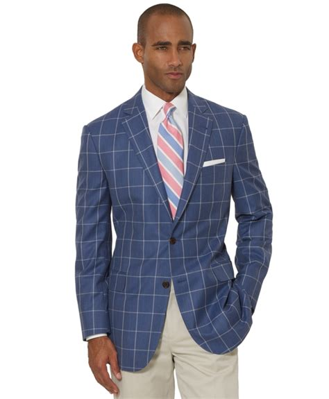 light blue windowpane sport coat window pane blazer windowpane wizardry windowpane