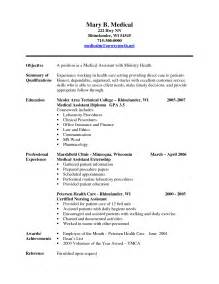 medical resume examples student resume template