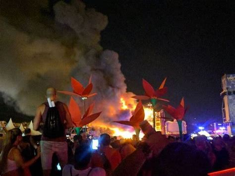 Lu Emergency Aoki tomorrowland unite spain festival evacuated after