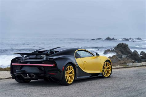 yellow bugatti yellow bugatti chiron pebble 05 fourtitude com