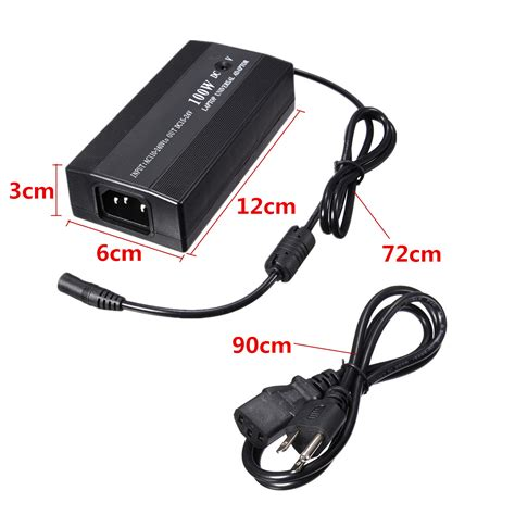 Adaptor Notebook Acdc 100w universal 100w ac dc to dc us power charger adapter