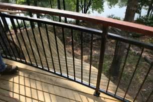 Design For Metal Deck Railings Ideas Metal Deck Railing Designs Home Design Ideas
