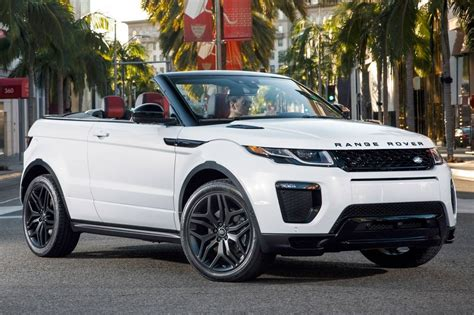 land rover cost 2017 2017 land rover range rover evoque suv pricing for sale