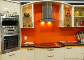Orange And White Kitchen Ideas Pictures Of Kitchens Modern Antique White Kitchens