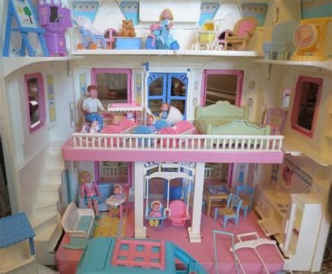 dollhouse 90s 1993 fisher price dollhouse doll from evezbeadz on