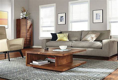 living room with coffee table how to decorate a living room
