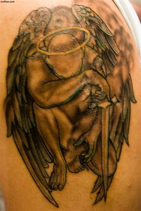 angel warrior tattoo 55 most wonderful sleeve tattoos lovely praying
