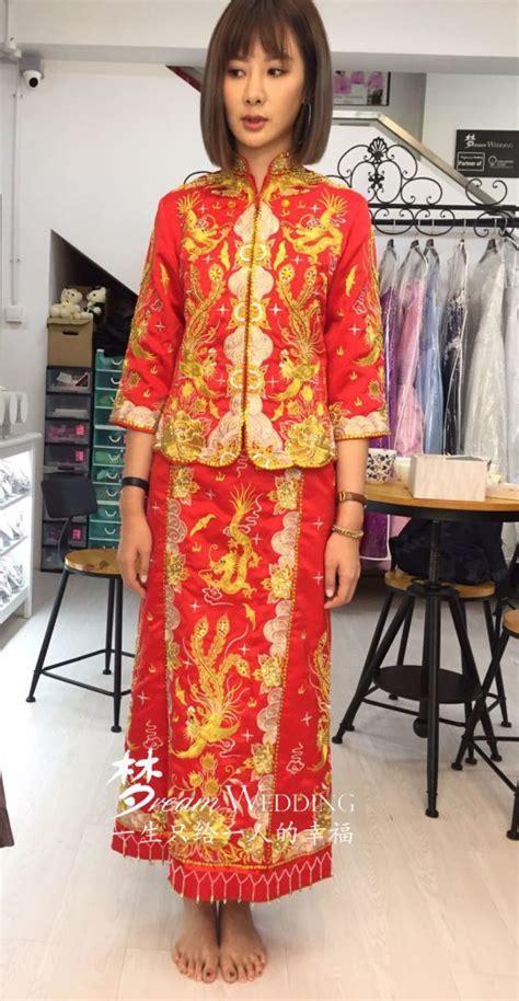 Qun Kua or Qun Kwa ??(Chinese Wedding Gown) Rental   Dream
