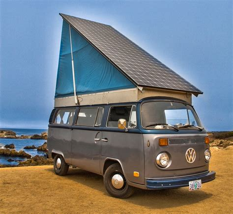 volkswagen minibus electric family creates solar electric volkswagen cer van