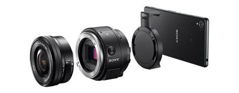 Lensa Sony Qx1 kamera berbentuk lensa dengan flash bawaan ilce qx1