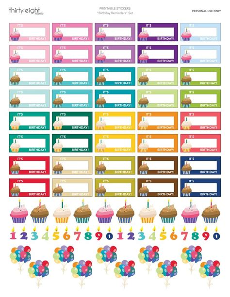 printable calendar stickers 25 best ideas about printable planner stickers on
