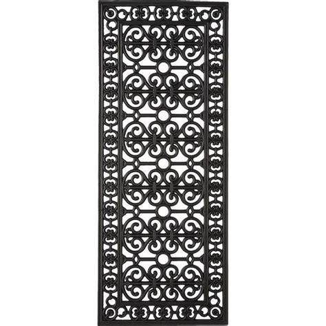 Outdoor Black Rubber Door Mats Smith Hawken Decorative Black Rubber Door Mat 27