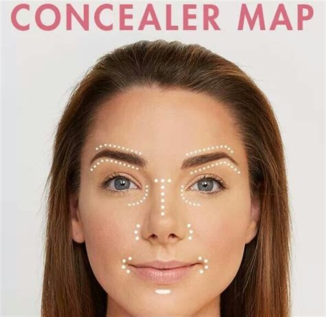 The Best Places To Apply Concealer Perfectly