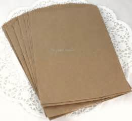 Brown Paper Favor Bags by 100 Brown Paper Bags 5x7 Bags Printable Bags Wedding Favor