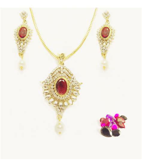 Arum Set arum kundan designer pendant set buy arum kundan designer pendant set in india on snapdeal