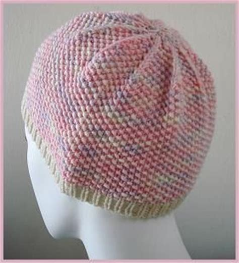knitted chemo cap patterns free seed stitch chemo hat in merino 5 superwash free hat