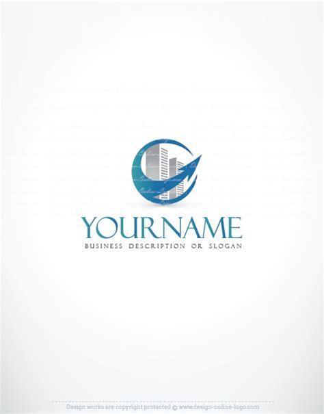 free logo design sles real estate online logo free business card