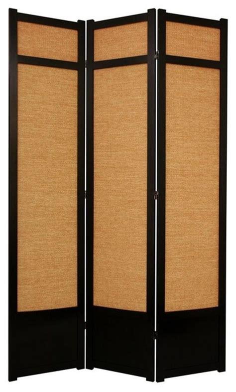 7 Ft Tall Jute Shoji Screen W Kick Plate 3 Panels 7ft Room Divider