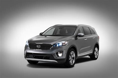 2016 Sorento Kia 2016 Kia Sorento Exterior Revealed Preview The Fast