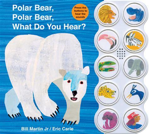 polar bear polar bear what do you hear sound book bill