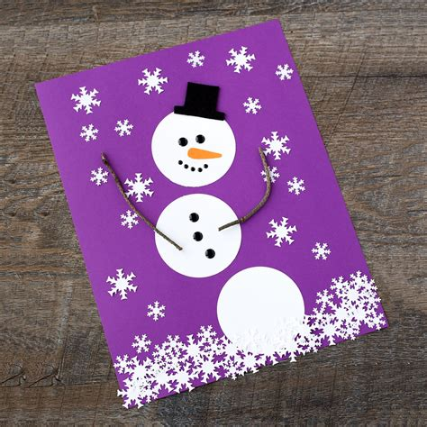 Snowman Paper Crafts For - easy paper snowman