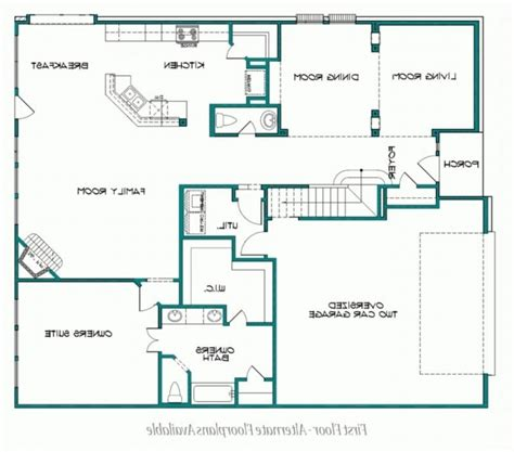 one story floor plans with two master suites house plans two master suites