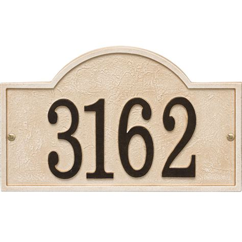 house number plaque stonework house number plaque in wall address plaques