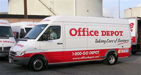 office depot delivery truck office depot newsroom