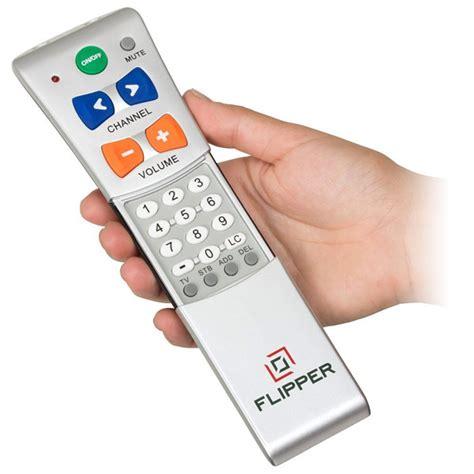 Remote Tv Universal Lg Tabunglcdled flipper two device universal low vision remote tv remote controls hearmore
