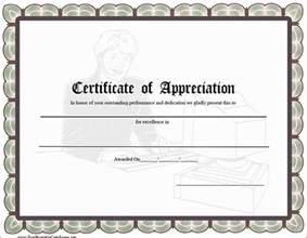free certificate of appreciation templates for word certificate of appreciation templates pdf word get