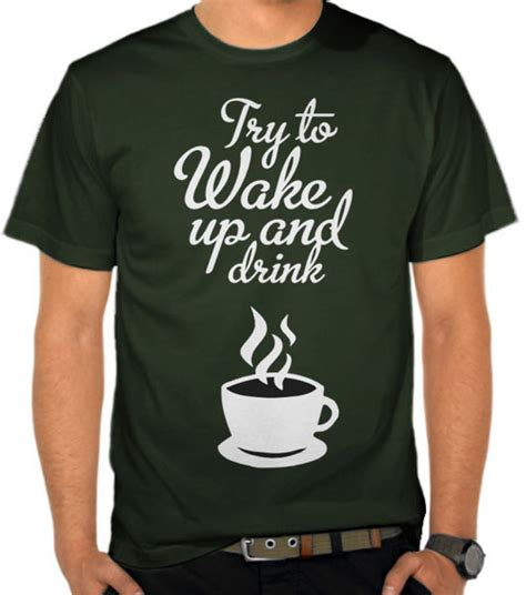 Kaos Kopi Coffee Addict 3 jual kaos up drink coffee penggemar kopi