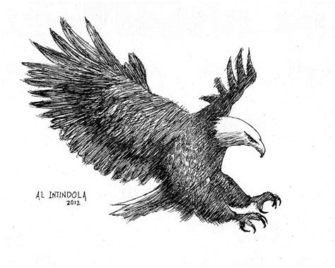 cabins in the woods grayscale coloring book books pen and ink bald eagle drawing by al intindola