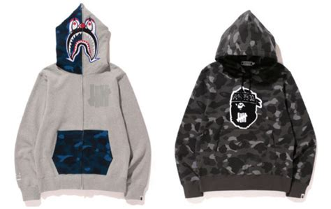 A Bathing Ape X Undefeated Japan White 1 a bathing ape x undefeated summer 2015 collection freshness mag