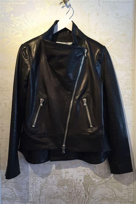 swing mission veronica beard mission swing back leather jacket